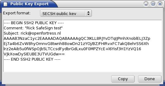 Shaman > Key management